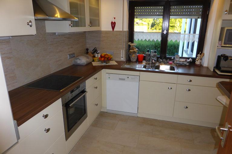 Sanierung einer Küche